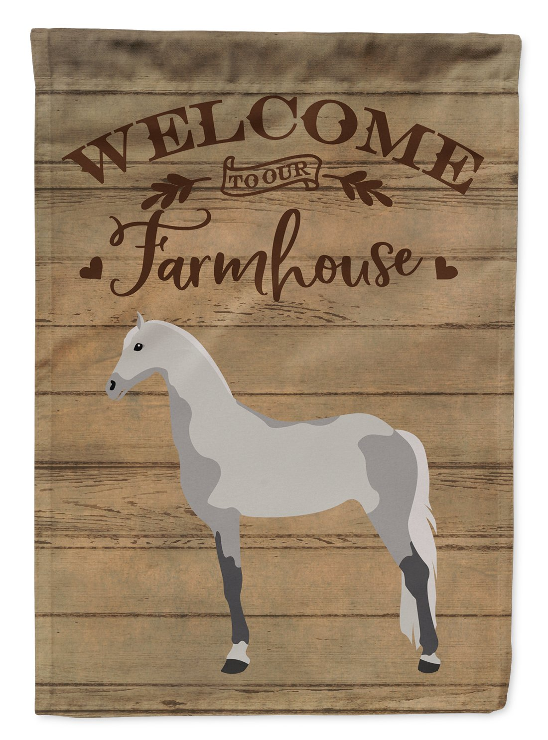 Buy this Orlov Trotter Horse Welcome Flag Garden Size CK6852GF
