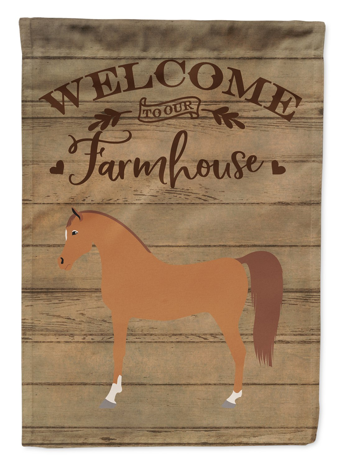 Arabian Horse Welcome Flag Garden Size CK6855GF by Caroline's Treasures