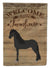 Friesian Horse Welcome Flag Garden Size CK6859GF by Caroline's Treasures