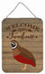 Buy this Chinese Painted or King Quail Welcome Wall or Door Hanging Prints CK6900DS1216