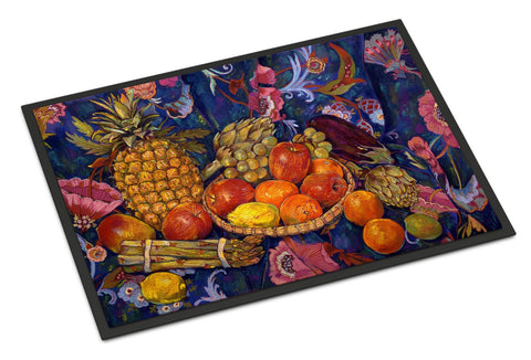 Buy this Fruit & Vegetables by Neil Drury Indoor or Outdoor Mat 18x27 DND0018MAT