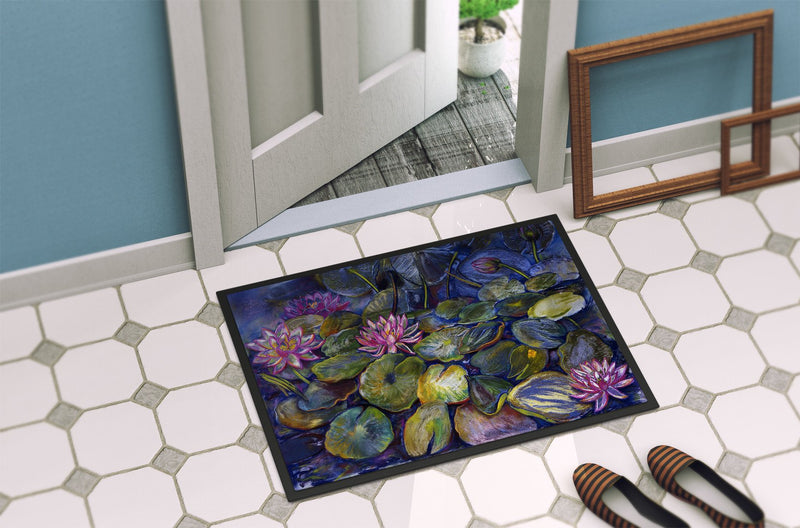 Buy this Waterlilies by Neil Drury Indoor or Outdoor Mat 24x36 DND0133JMAT