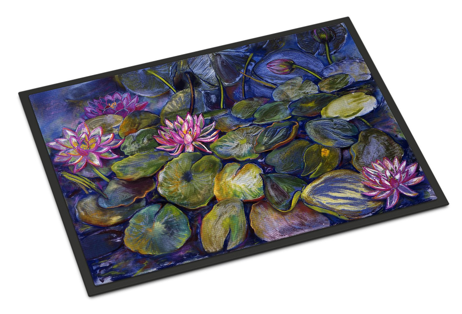 Buy this Waterlilies by Neil Drury Indoor or Outdoor Mat 18x27 DND0133MAT