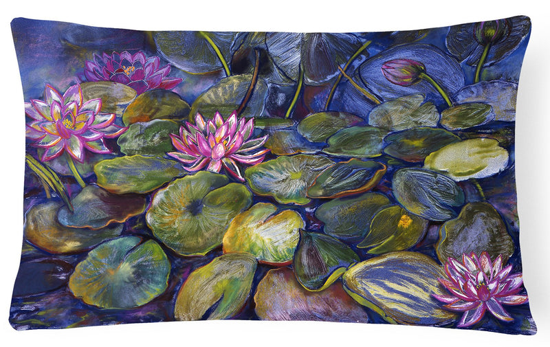 Buy this Waterlilies by Neil Drury Fabric Decorative Pillow DND0133PW1216