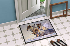 Wolves by Mollie Field Indoor or Outdoor Mat 24x36 FMF0007JMAT