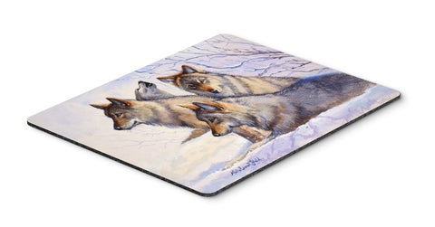 Buy this Wolves by Mollie Field Mouse Pad, Hot Pad or Trivet FMF0007MP