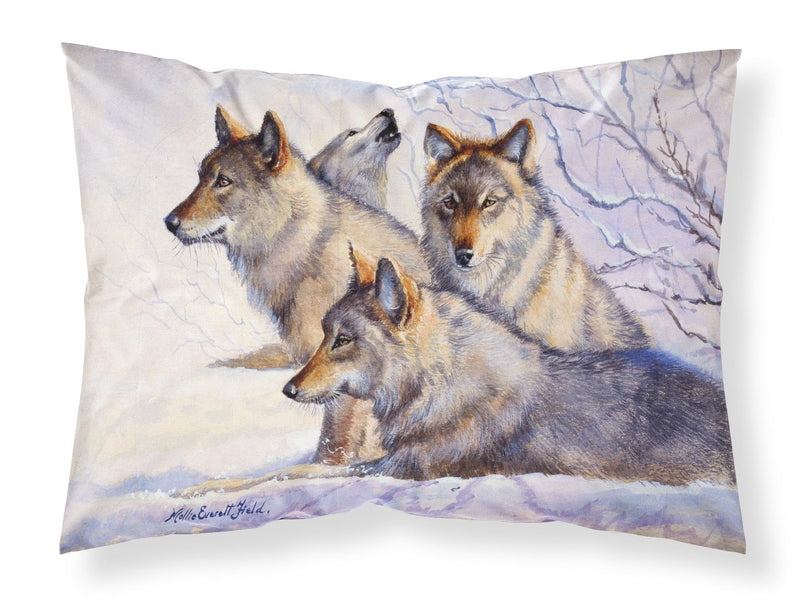 Buy this Wolves by Mollie Field Fabric Standard Pillowcase FMF0007PILLOWCASE