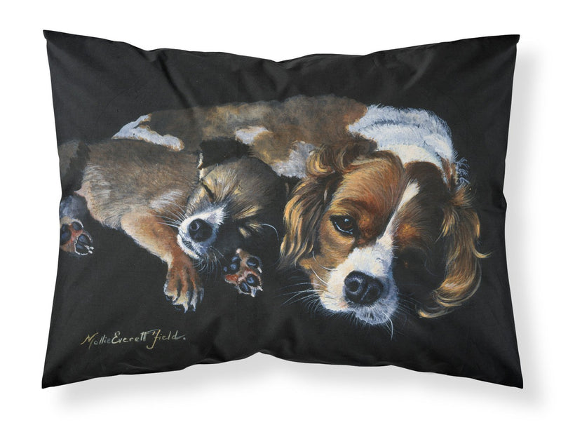 Buy this Cozy Pals with Cavalier Spaniel Fabric Standard Pillowcase FMF0022PILLOWCASE