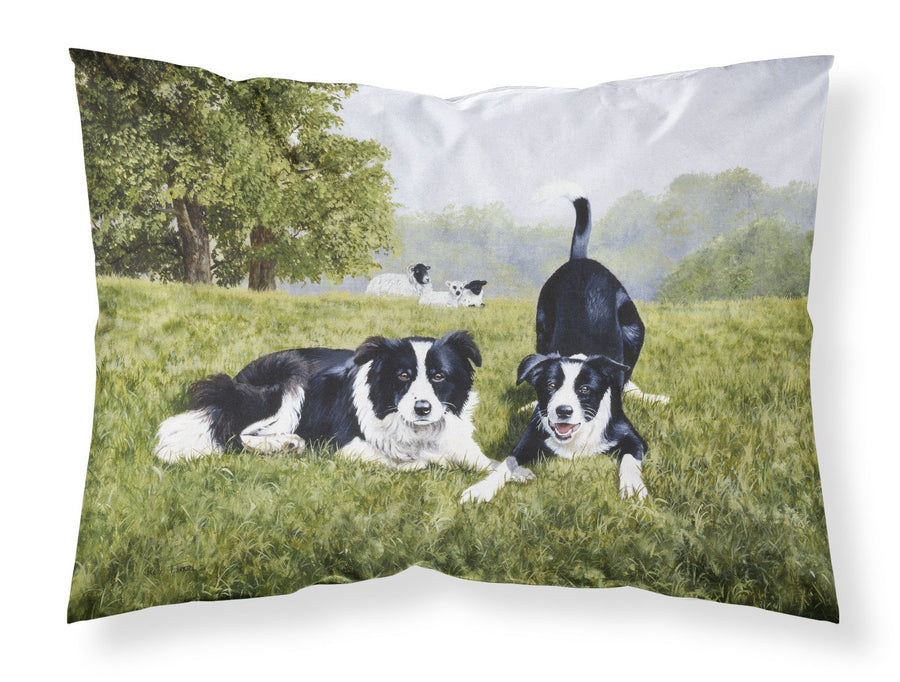 Buy this Let's Play Border Collie Fabric Standard Pillowcase FRF0014PILLOWCASE