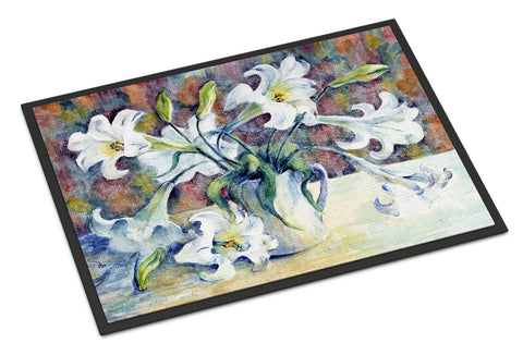 Buy this Easter Lillies Indoor or Outdoor Mat 18x27 GFGO0014MAT