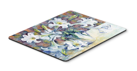 Buy this Easter Lillies Mouse Pad, Hot Pad or Trivet GFGO0014MP