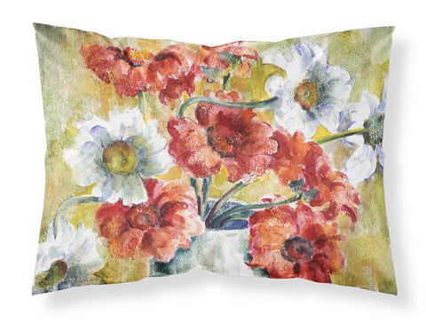 Buy this Flowers by Fiona Goldbacher Fabric Standard Pillowcase GFGO0028PILLOWCASE