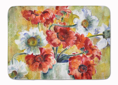 Buy this Flowers by Fiona Goldbacher Machine Washable Memory Foam Mat GFGO0028RUG