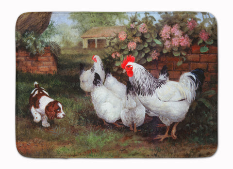 Buy this Chickens, Hens and Puppy Machine Washable Memory Foam Mat HEH0003RUG
