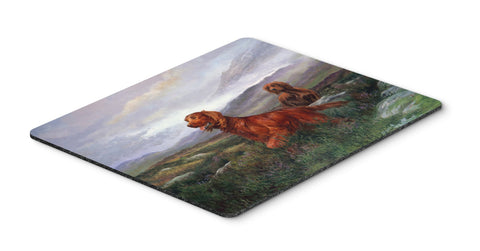 Buy this Irish Setters by Elizabeth Halstead Mouse Pad, Hot Pad or Trivet HEH0081MP
