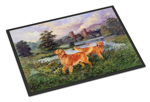 Buy this Golden Retrievers Indoor or Outdoor Mat 18x27 HEH0098MAT