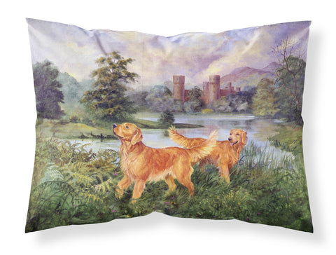 Buy this Golden Retrievers Fabric Standard Pillowcase HEH0098PILLOWCASE