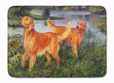 Buy this Golden Retrievers Machine Washable Memory Foam Mat HEH0098RUG