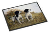 Two Springer Spaniels by Michael Herring Indoor or Outdoor Mat 24x36 HMHE0001JMAT - the-store.com