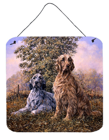 Buy this Setters by Michael Herring Wall or Door Hanging Prints HMHE0203DS66