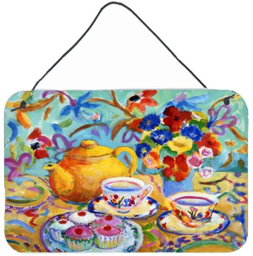 Buy this Teal Tea by Wendy Hoile Wall or Door Hanging Prints HWH0011DS812