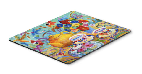 Buy this Teal Tea by Wendy Hoile Mouse Pad, Hot Pad or Trivet HWH0011MP