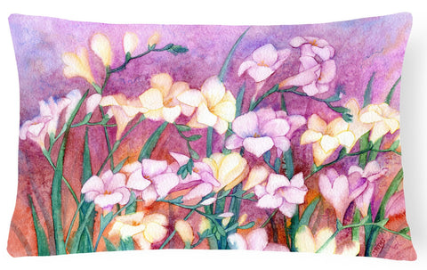 Buy this Freesias Fabric Decorative Pillow IBD0249PW1216