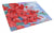 Buy this Gladioli Glass Cutting Board Large IBD0250LCB