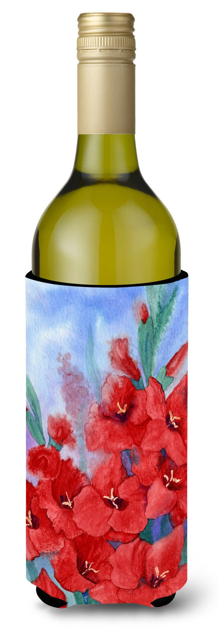 Buy this Gladioli Wine Bottle Beverage Insulator Hugger IBD0250LITERK