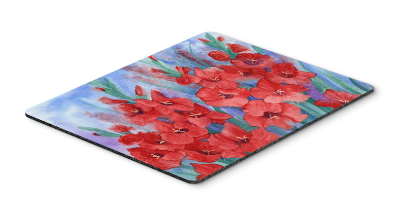 Buy this Gladioli Mouse Pad, Hot Pad or Trivet IBD0250MP