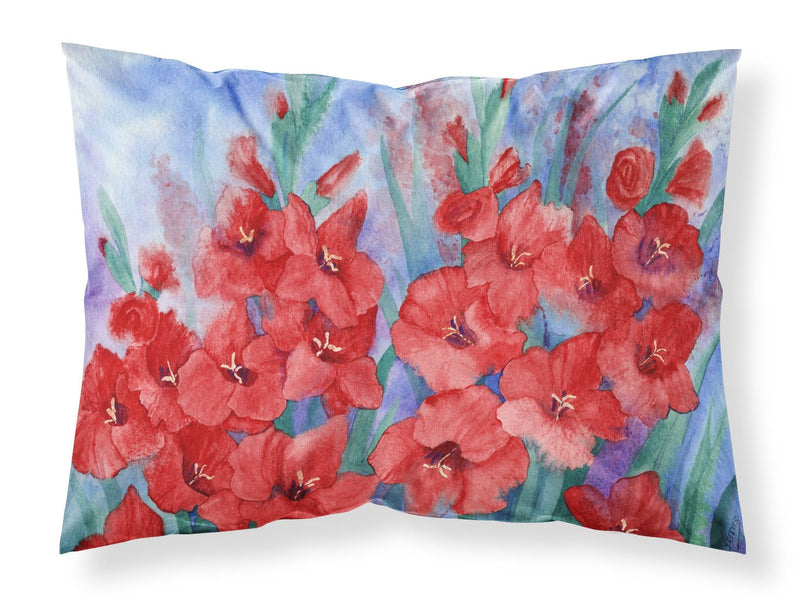 Buy this Gladioli Fabric Standard Pillowcase IBD0250PILLOWCASE