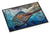 Running The Guantlet Blue Marlin Indoor or Outdoor Mat 24x36 JMA2000JMAT by Caroline's Treasures
