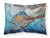 Running The Guantlet Blue Marlin Fabric Standard Pillowcase JMA2000PILLOWCASE by Caroline's Treasures
