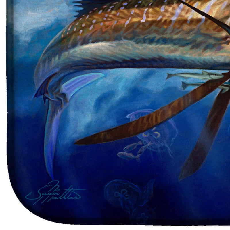 Buy this Majesty Sailfish Dish Drying Mat JMA2010DDM