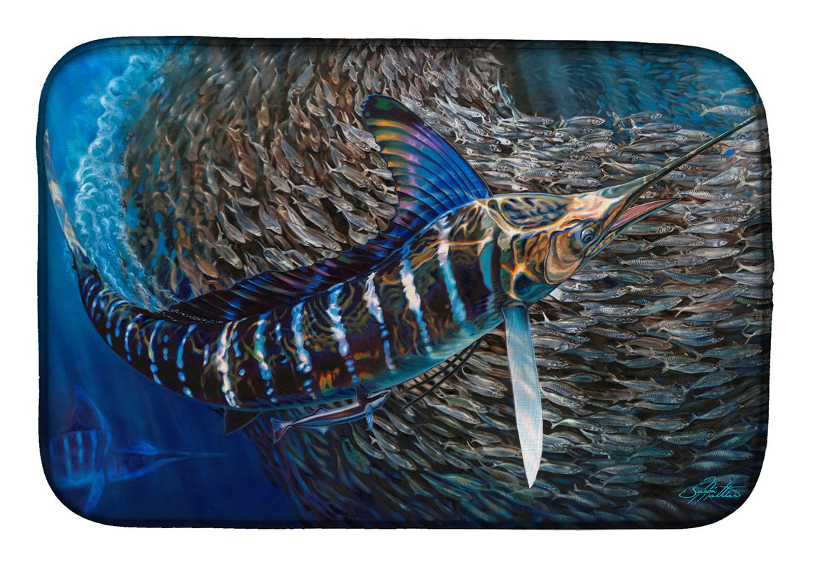 Buy this Striped Gem Striped Marlin Dish Drying Mat JMA2014DDM