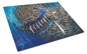 Buy this Striped Gem Striped Marlin Glass Cutting Board Large JMA2014LCB