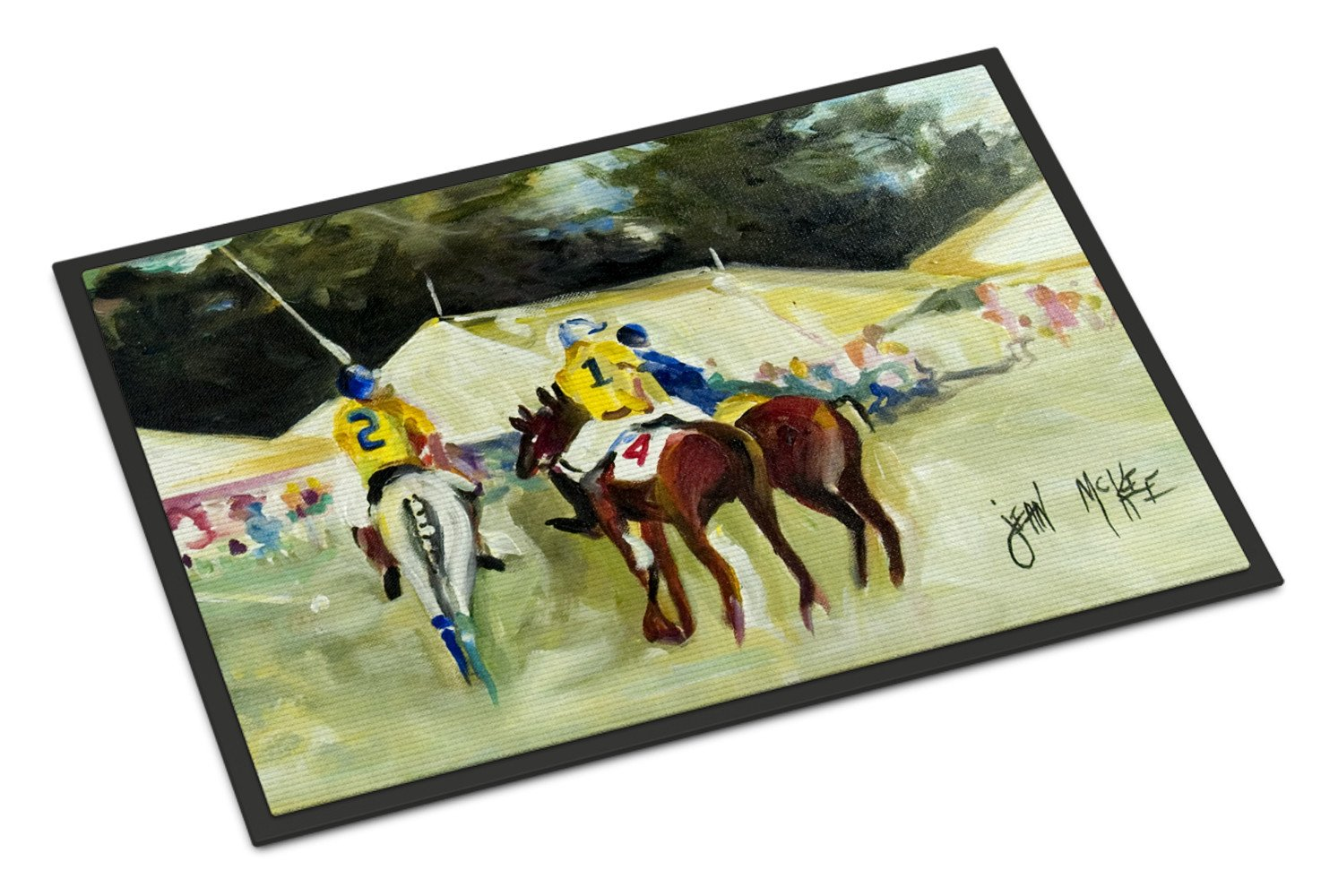 Polo at the Point Indoor or Outdoor Mat 24x36 JMK1006JMAT by Caroline's Treasures