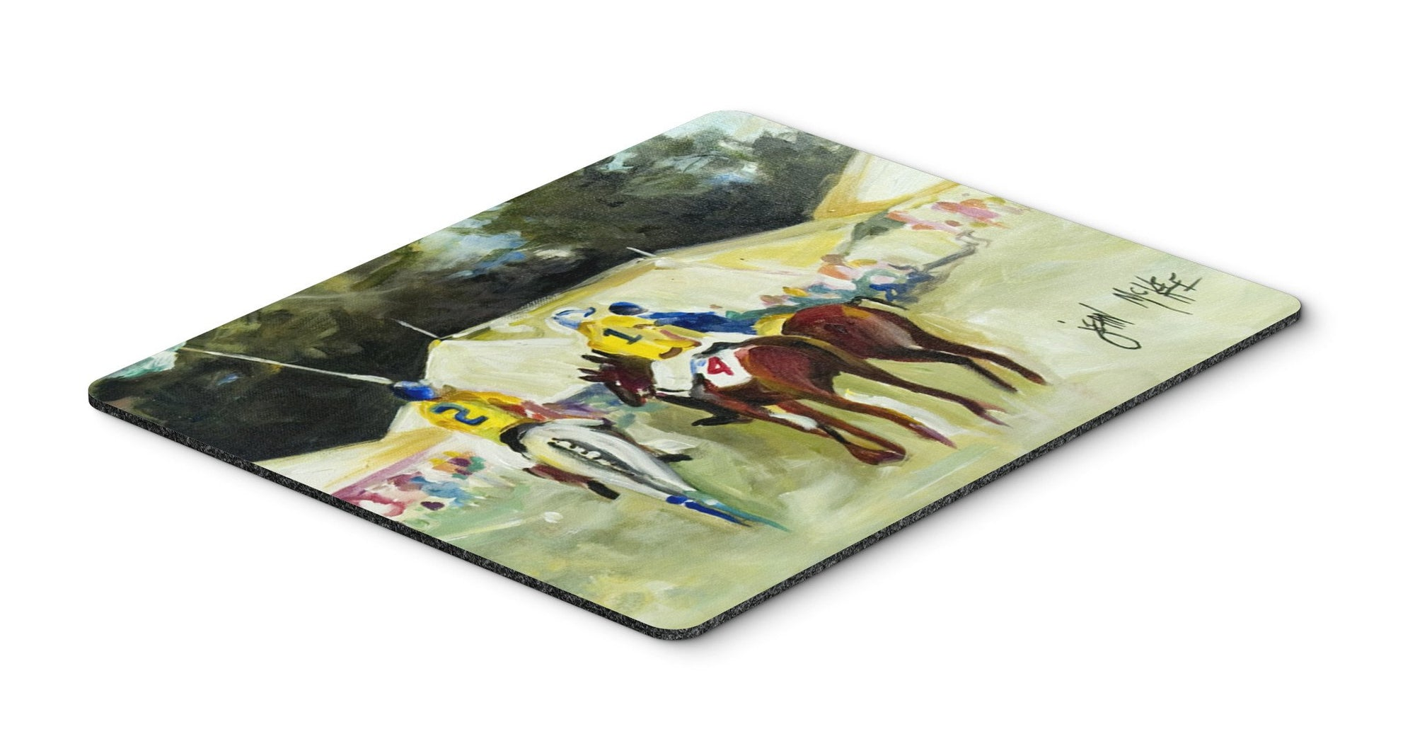 Polo at the Point Mouse Pad, Hot Pad or Trivet JMK1006MP by Caroline's Treasures