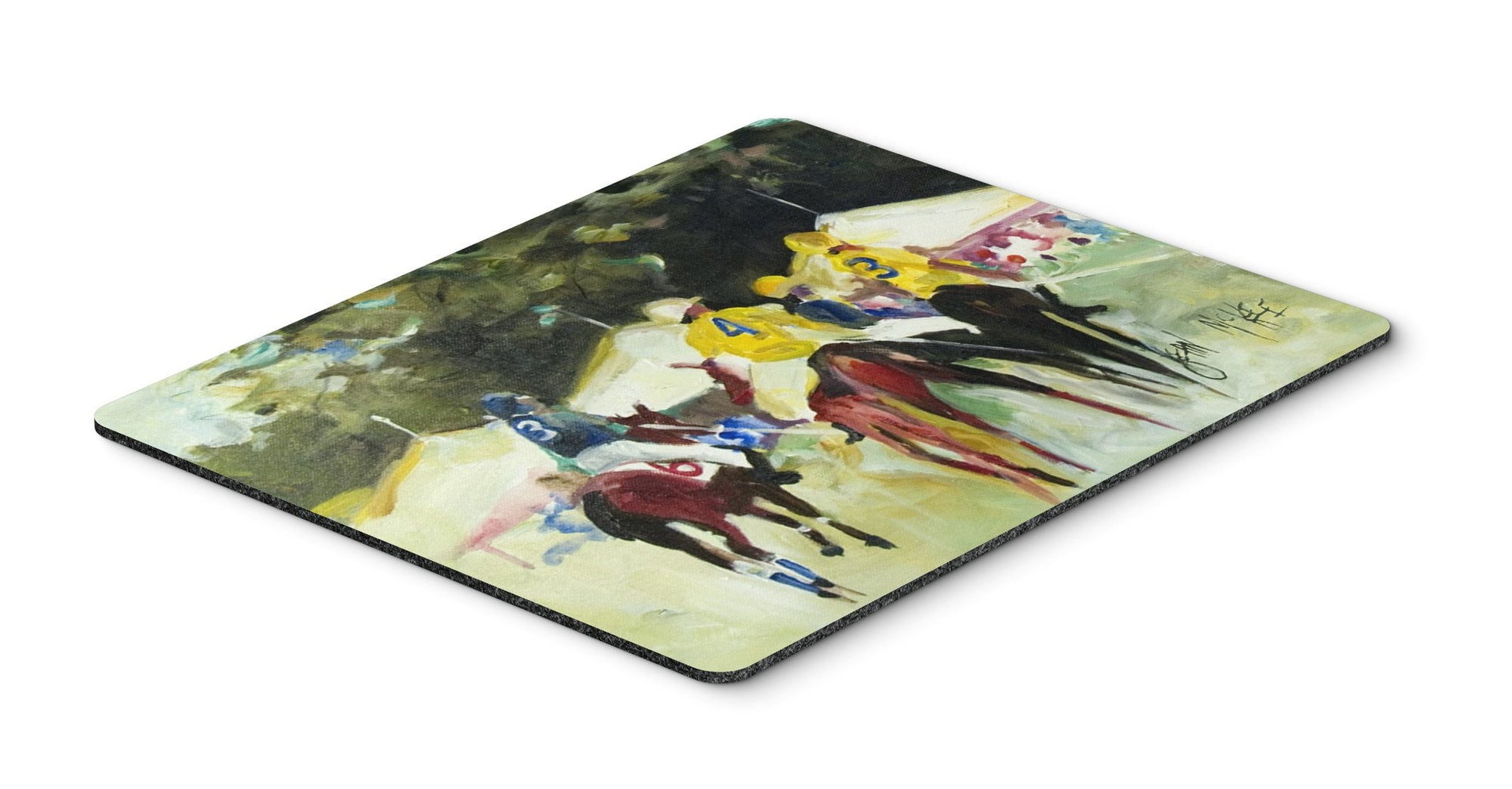 Polo at the Point Mouse Pad, Hot Pad or Trivet JMK1007MP by Caroline's Treasures