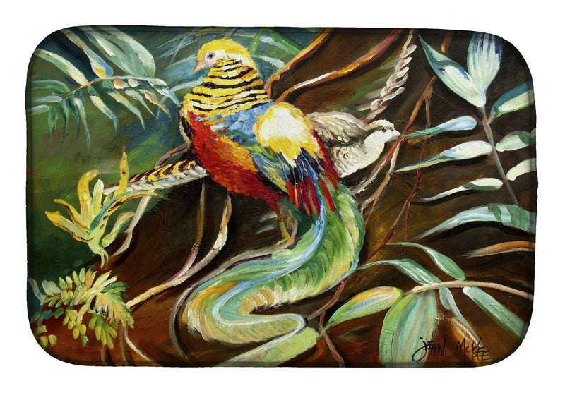 Buy this Mandarin Pheasant Dish Drying Mat JMK1014DDM