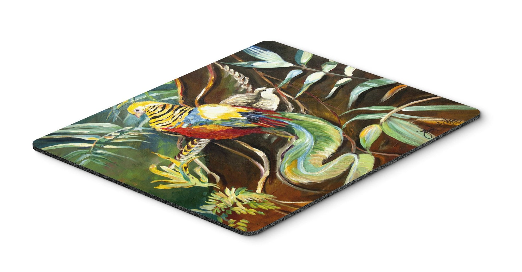 Buy this Mandarin Pheasant Mouse Pad, Hot Pad or Trivet JMK1014MP