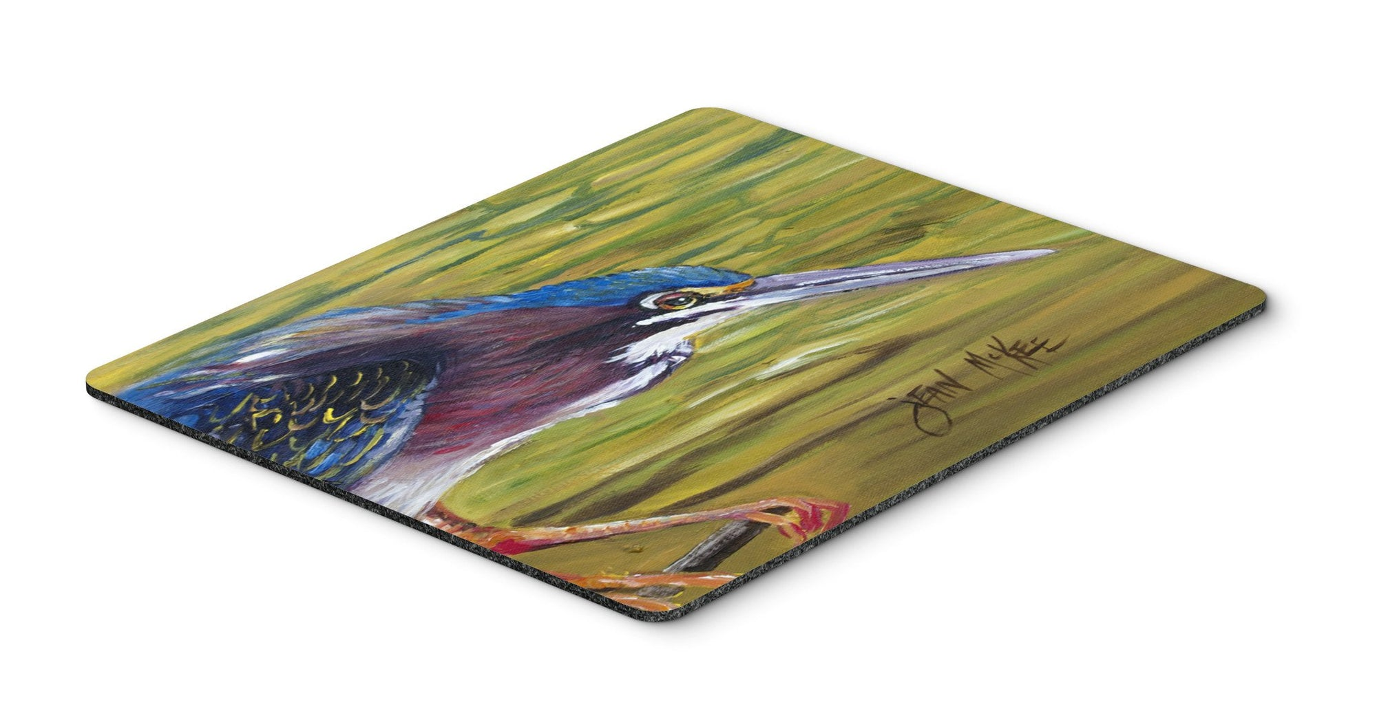 Buy this Green Heron Mouse Pad, Hot Pad or Trivet JMK1016MP