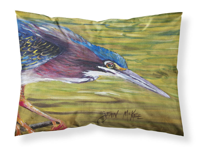 Buy this Green Heron Fabric Standard Pillowcase JMK1016PILLOWCASE