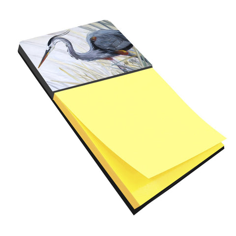 Buy this Blue Heron Frog hunting Sticky Note Holder JMK1017SN