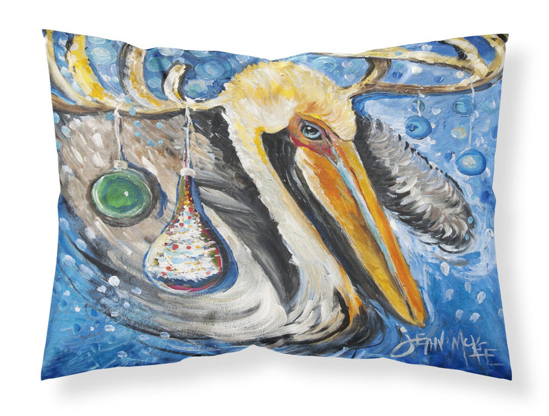 Buy this Pelican Dressed as a Reindeer Fabric Standard Pillowcase JMK1020PILLOWCASE