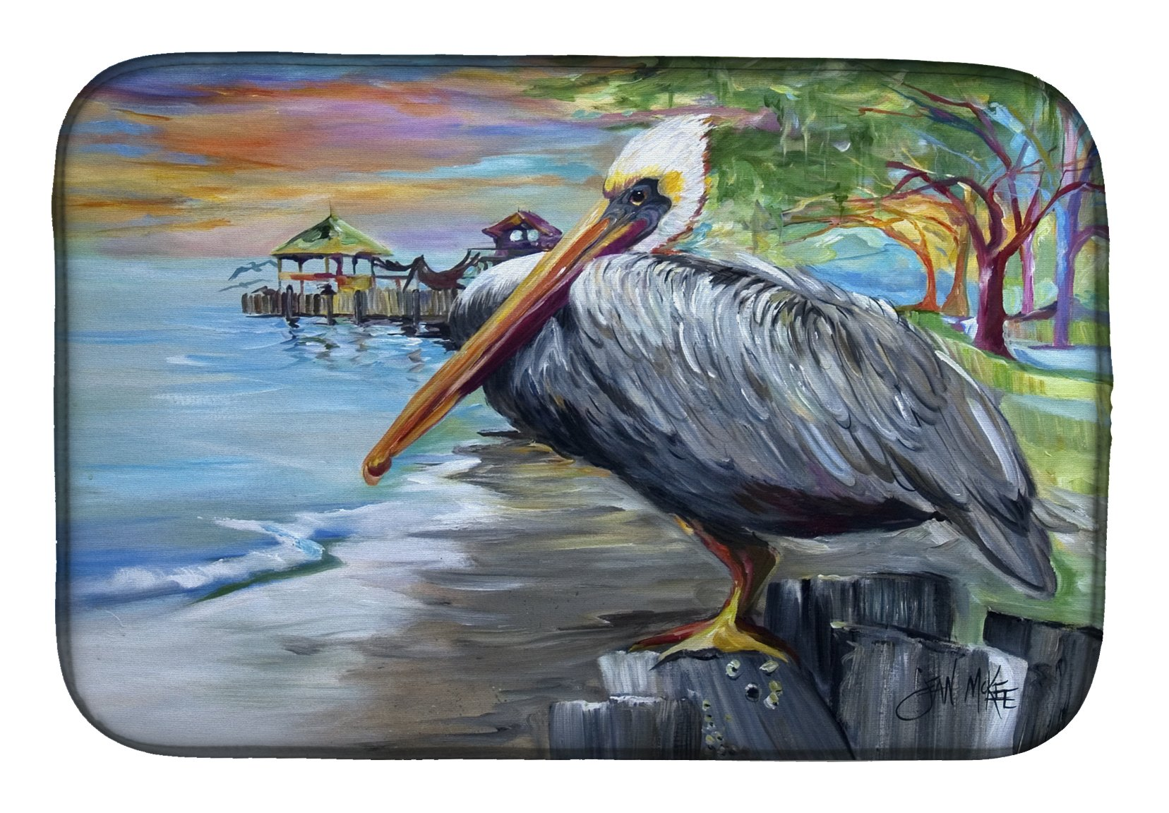Buy this Pelican view Dish Drying Mat JMK1021DDM