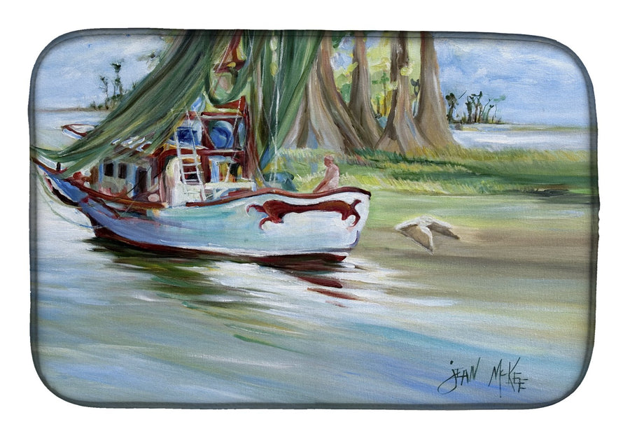 Buy this Jeannie Shrimp Boat Dish Drying Mat JMK1060DDM