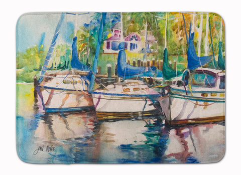 Buy this Safe Harbour Sailboats Machine Washable Memory Foam Mat JMK1071RUG