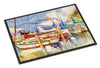 Run Away Sailboats Indoor or Outdoor Mat 24x36 JMK1072JMAT - the-store.com
