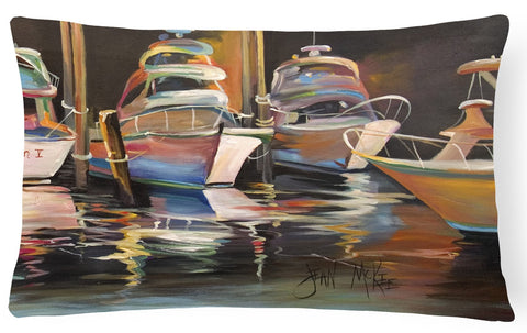 Buy this Sea Chase Deep Sea Fishing Boats Canvas Fabric Decorative Pillow JMK1076PW1216